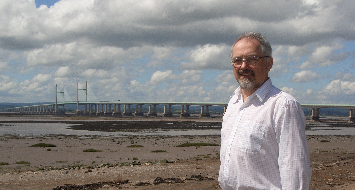 Peter Tyzack at the Second Severn Crossing